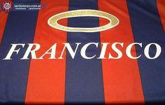 San Lorenzo vestirá una camiseta con dedicatoria al papa Francisco Messi, Company Logo, San, Retro, Logos, Sports, Club, Argentina, T Shirts