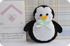 Pinguim by Casinha de Pano, via Flickr
