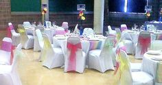 Wedding Reception in the Pemberton Suite - Pastel theme