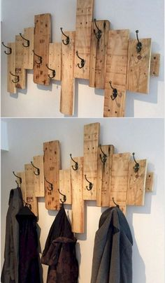 Pallet Home Decor, Wooden Pallet Projects, Diy Pallet Furniture, Diy Home Decor, Diy Projects, Furniture Ideas, Woodworking Projects, Furniture Design, Project Ideas