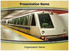 26 best automobile and vehicles powerpoint template images on check out our professionally designed subway train ppt template get started for your next toneelgroepblik Image collections