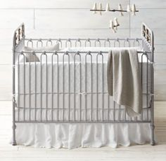 RH baby&child's Garment-Dyed Diamond Quilted & Linen Nursery Bedding Collection:Tailored from premium linen, our ultra-soft bedding is quilted in classic diamonds and washed to enhance its naturally cozy feel and drape. California artisans tailor the bedding with care and then garment-dye it in small batches, a process that lends rich color and a wonderfully smooth finish.