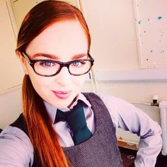 "Tweeted by Louisa : ""Another day Shannon-ing around on the set of #WOLFBLOOD season three! Who's excited? ""."