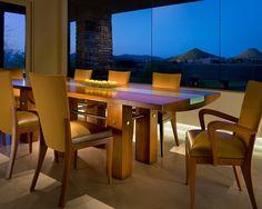 Custom dining table contemporary-dining-room