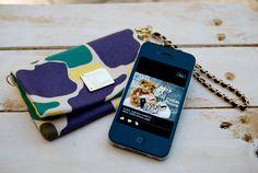 F.I.N.E. Mon Chéri - Marin iPhone case