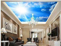 Fondo de pantalla blue Sky cielo telón de fondo papel tapiz mural papel pintado mural de la pared papel papel de parede pared pegatinas wallpaper20151065 wallpap(China (Mainland))