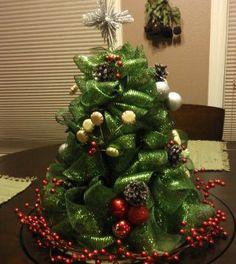 Árvore de Natal de fita grossa passo a passo - Vale o Clique!