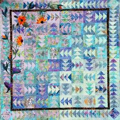 Which Ways North ~ Quiltworx.com  Made by Certified Instructor Cathie Boucher Sollman