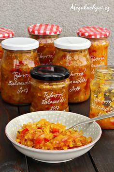 Sladkokyselá tykvová čalamáda - Meg v kuchyni Squash, Salsa, Sweet, Webhosting, Recipes, Food, Turmeric, Candy, Pumpkins