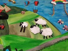 Join Taragh and learn how to make fluffy sheep for your craft village!