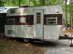 27 amazing vintage 1964 nomad travel trailer camper images campers vintage travel trailers. Black Bedroom Furniture Sets. Home Design Ideas