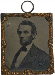 Abraham Lincoln Tintype Abbott & Co Series, c 1862