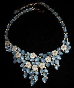 Vintage Trifari Necklace Fruit Salad Rhinestone Most Beautiful Necklace Ever | eBay