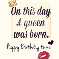 Birthday Quotes : Happy Birthday Day to me….It's my Birthday. It's my Birthday! Birthday Month Quotes, Happy Birthday To Me Quotes, Happy Birthday Status, Its My Birthday Month, Birthday Wishes Quotes, Happy Quotes, Birthday Memes, Funny Quotes, Birthday Ideas