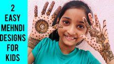 #hennakit #hennafun Festival Special| 2 Best Mehndi Designs For Kids |Latest Mehndi Design For Kids|Babies Mehndi design Henna Designs For Kids, Mehndi Designs Front Hand, Mehandi Designs Easy, Simple Arabic Mehndi Designs, Eid Mehndi Designs, Mehndi Simple, Mehndi Patterns, Latest Mehndi Designs, Baby Mehndi Design