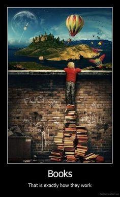 """""""Reading isn't dangerous. Not reading is."""" (artist Anastasia Gorbunov)"""