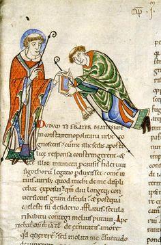Moralia in Jobs Alphabet, Romanesque Art, Art Roman, Historical Art, 12th Century, Book Of Shadows, Illuminated Manuscript, Middle Ages, Folk