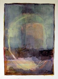 Karen Darling - oil and cold wax on paper