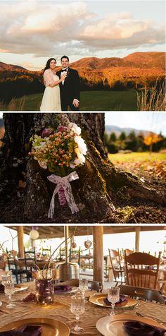 Tara + Nathan: Natural Rustic Fall Vineyard Wedding in Virginia by Jordan Marsh Photography