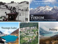 Visit GExperience a Remarkable Travel Vacation with #SikkimTours angtok-Capital of Sikkim, Yuksom, Tsomgo lake, Nathu la pass, Pelling and Enjoy the popular toy train ride in Darjeeling, Kelimpong, Siliguri with #Sikkimtourpackages. For details: http://goo.gl/UF8c6H