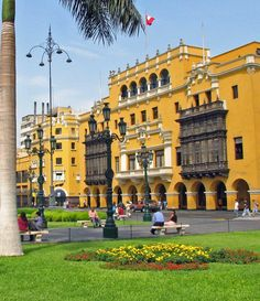 City Hall, Lima, PERU.  I would love to go back and do more sight seeing :)