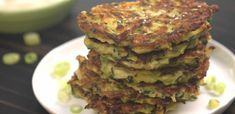 It's hard to resist salty snacks and sides, especially when you're barbecuing or hosting a summer cook-out. Our favorite compromise? Zucchini fritters!