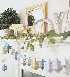 Hanukkah decoration