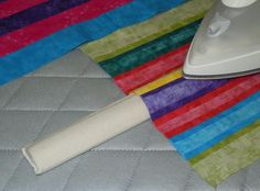 Babb Enterprises - Products - The Strip Stick, so named for pressing seams when strip quilting, makes ironing seams a snap without distorting previously pressed seams. Quilting Tools, Quilting Tutorials, Machine Quilting, Quilting Projects, Sewing Tutorials, Sewing Projects, Quilting Ideas, Sewing Tools, Sewing Hacks