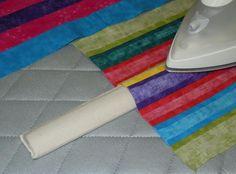 Pressing Bar, the strip stick, Iron straight line seams over stick