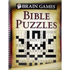 Brain Games-Bible Puzzles (Other) Word Brain Games, Word Ladders, Creative Thinking, Puzzles, The Book, Walmart, Bible, Words, Biblia
