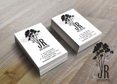 JR Bee Keeping - Logo and business card design by SammyJackles