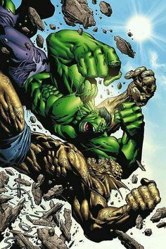 The Hulk Vs. The Abomination .