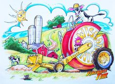 How to DRAW A #HOTROD from #WISCONSIN! Episode 5 features Fireball's sketch of THE WISCONSIN CHEESESTER plus featured guest Kathie Lawrence as she creates a cool project with a poster. ABOUT THE SHOW Funny Host and Illustrator Fireball Tim doodles from hi