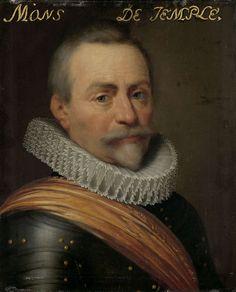 Workshop of Jan Anthonisz. van Ravesteyn, Portrait of Olivier van den Tempel, heer van Corbeecke, ca. 1609-1633, Rijksmuseum Amsterdam (SK-A-553)
