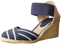 Lauren Ralph Lauren Women's Charla Espadrille Sandal *** Insider's special review you can't miss. Read more  : Wedge sandals