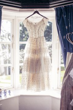 Beautiful vintage #wedding gown captured by David McClelland | onefabday.com