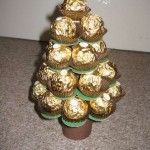 Ferrero Tree - step by step