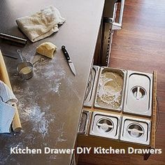 New DIY Kitchen Draw