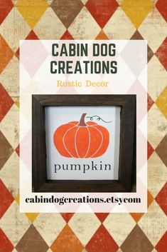 It's almost fall and that means Pumpkins!!!  #fall #autumn #harvest #falldecor #autumndecor #rustic #rusticfalldecor #rustichomedecor #cabindogcreations #pumpkin #pumpkins #woodsign #pumpkindecor Harvest Decorations, Thanksgiving Decorations, Halloween Decorations, Autumn Harvest, Autumn Leaves, Pumpkin Pictures, Winter Things, Rustic Fall Decor, Home Goods Decor