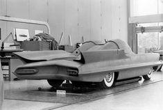 1955 Lincoln Futura clay model