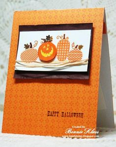 Halloween Happiness for Queen Pat by bon2stamp - Cards and Paper Crafts at Splitcoaststampers