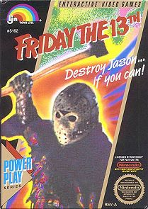 Friday The 13th- This game used to scare me to death when I was a kid.