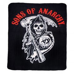 Sons of Anarchy Reaper Fleece Blanket