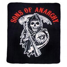 Sons of Anarchy Reaper Fleece Blanket