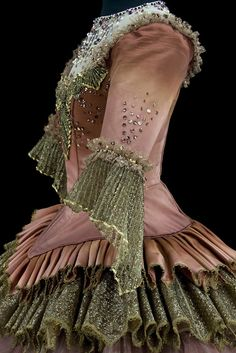 Costume for the Lilac Fairy Queen in Sleeping Beauty, Teatro alla Scalla, Milan, 1966. Collection CNSC/Rudolf Nureyev Foundation. Photograph by Pascal François