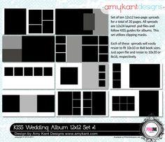 Album templates