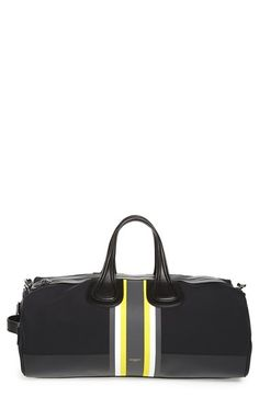 Givenchy Stripe Neoprene Duffel Bag