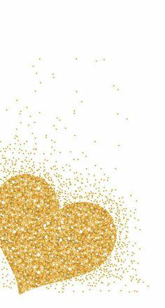 Gold Glitter Phone Wallpaper/Sreensaver