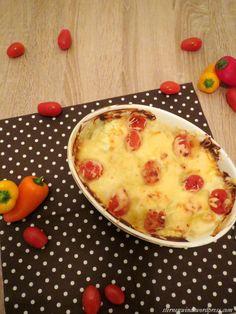 Sternenwind: Kartoffel-Paprika-Zwiebel-Tomaten-Auflauf http://wp.me/pGCcY-wI