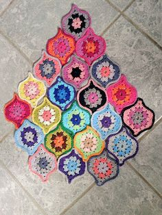 funkycrochet: Mystical Lanterns - playing with colour